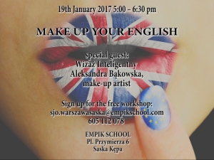 MAKE UP YOUR ENGLISH