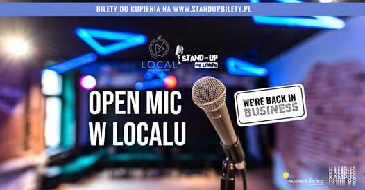 Stand-up No Limits: Open mic PL (11.06)