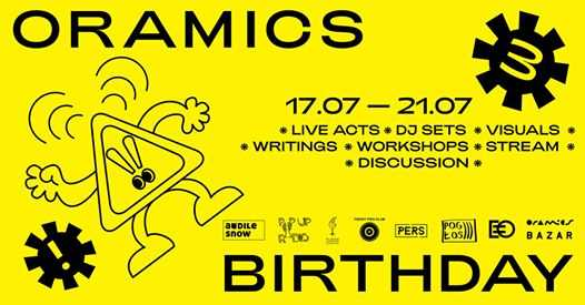 Oramics 3rd Birthday