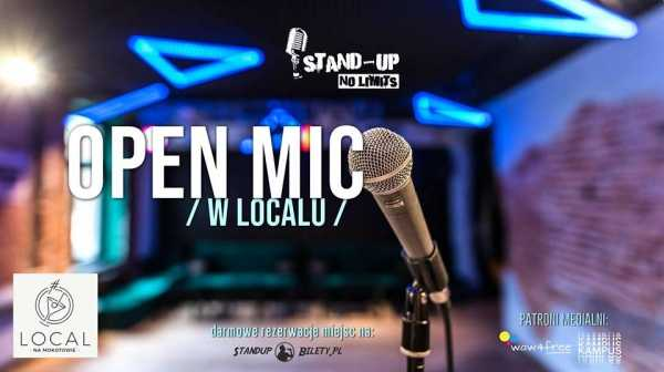 Stand-up No Limits: Open mic