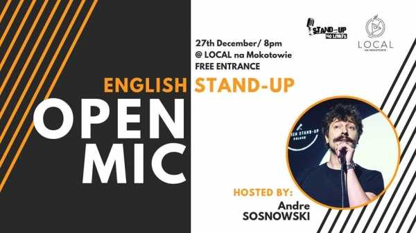 Stand-up No Limits: English open mic