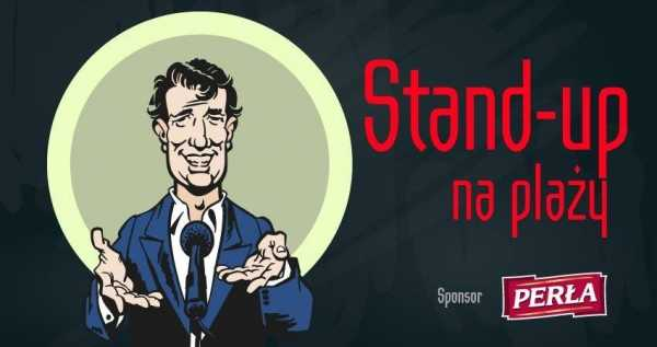 Stand-up na plaży! Michał Kutek + support
