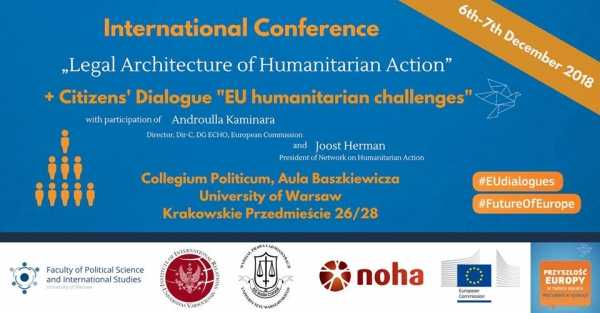 "Konferencja / International Conference: ""Legal Architecture of Humanitarian Action"""