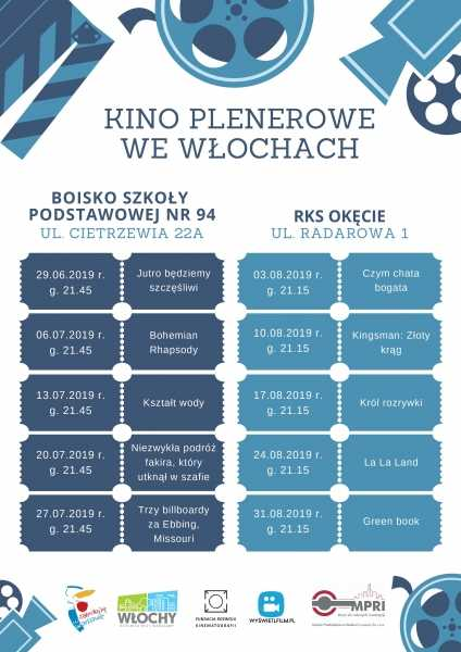Kino plenerowe we Włochach | Green Book