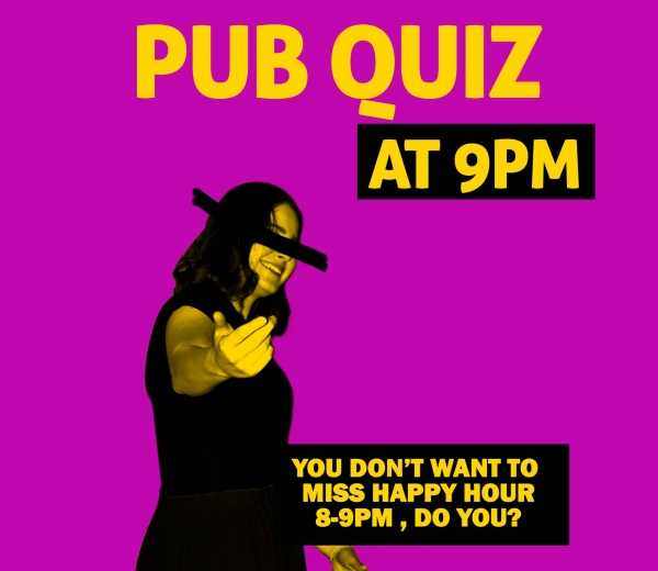 Music Pub Quiz - Grrreatest Hits of 90's & 00's