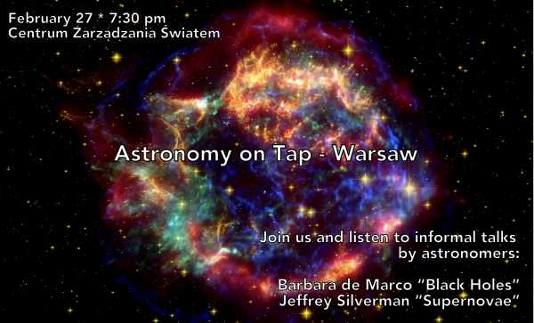 Astronomy on Tap - Warsaw vol. 3